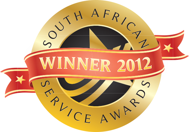 South African Service Award 2012